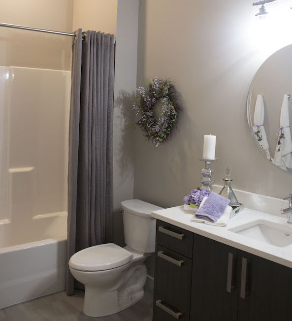 Trace Edwardsville 2 Bedroom Apartment Bathroom